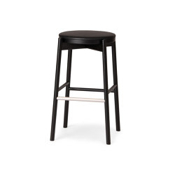 Kotan High Stool - Upholstered | Barhocker | Conde House