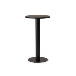 Kotan Round High Table - Wood | Standing tables | Conde House
