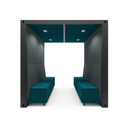 Open Container Box | Sound absorbing architectural systems | The Meeting Pod