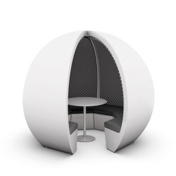 7 Person Escape Pod | Office Pods | The Meeting Pod