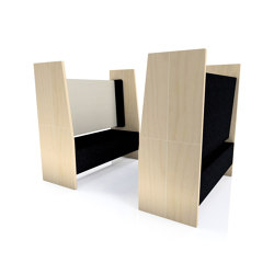 Open Meeting Booth | Sound absorbing architectural systems | The Meeting Pod