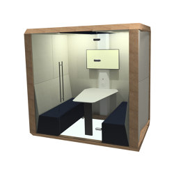 Fully Enclosed Meeting Box | Office Pods | The Meeting Pod