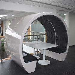4 Person Open Meeting Pod | Office Pods | The Meeting Pod