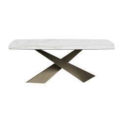 Living  Ceramic Top Table | Mesas comedor | Riflessi
