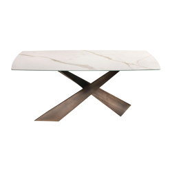 Living  Ceramic Top Table | Mesas comedor | Riflessi
