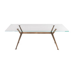 Master Glass Top | Dining tables | Riflessi