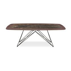 Pegaso Tavolo Piano Legno E Ceramica | Tavoli pranzo | Riflessi