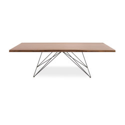 Pegaso Wooden Top Table Th.50Mm | Dining tables | Riflessi