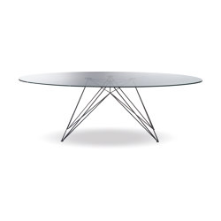 Pegaso Glass Top | Dining tables | Riflessi