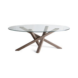Shangai Glass Top | Dining tables | Riflessi