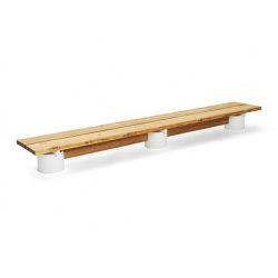 Plinth long bench | Benches | Vestre