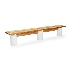 Plinth long seat | Benches | Vestre