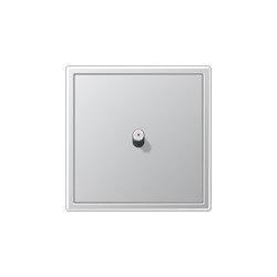 LS 1912 | mit Kontrollleuchte Aluminium Kippschalter Zylinder | Kippschalter | JUNG