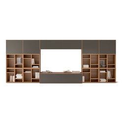 Lauki TV Unit | Wall storage systems | TREKU
