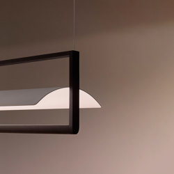 Kontur 6434 hanging lamp | Suspended lights | Vibia