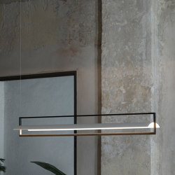 Kontur 6436 hanging lamp | Suspended lights | Vibia
