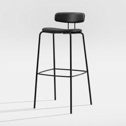 Okito Ply Bar Upholstered seat | Bar stools | Zeitraum