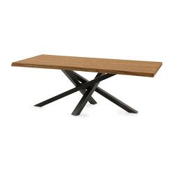 Shangai Tavolo Piano Legno Sp.50Mm | Tavoli pranzo | Riflessi