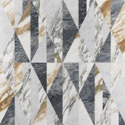 Opus | Tangram zafferano | Lastre pietra naturale | Lithos Design