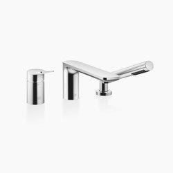 Lissé - Wannen-Dreiloch-Einhandbatterie für Wannenrand- bzw. Fliesenrandmontage | Badewannenarmaturen | Dornbracht