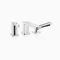 LULU - Wannen-Dreiloch-Einhandbatterie für Wannenrand- bzw. Fliesenrandmontage | Badewannenarmaturen | Dornbracht