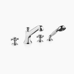 Madison - Wannen-Vierlochbatterie für Wannenrand- bzw. Fliesenrandmontage | Badewannenarmaturen | Dornbracht
