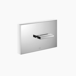 MEM - Cover plate for the concealed WC cistern made by TECE | Flushes | Dornbracht