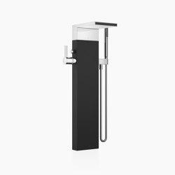 MEM - Wannen-Einhandbatterie mit Schwallauslauf für freistehende Montage mit Schlauchbrausegarnitur | Badewannenarmaturen | Dornbracht