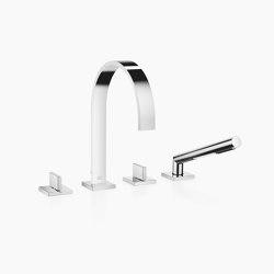MEM - Wannen-Vierlochbatterie für Wannenrand- bzw. Fliesenrandmontage | Badewannenarmaturen | Dornbracht