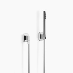 Modern Showers | Lissé - Hand shower set with individual rosettes | Shower controls | Dornbracht