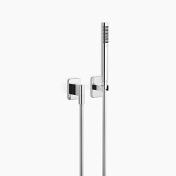 Modern Showers | LULU - Hand shower set with individual rosettes | Shower controls | Dornbracht