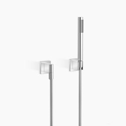 Modern Showers | Hand shower set with individual rosettes | Shower controls | Dornbracht