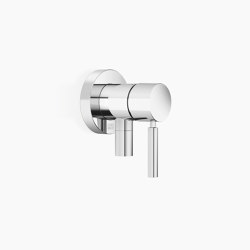 Modern Showers | Meta - Concealed single-lever mixer with cover plate with integrated shower connection | Shower controls | Dornbracht