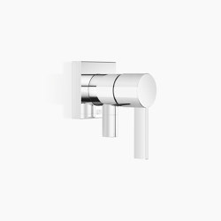 Modern Showers | CL.1 - Concealed single-lever mixer with cover plate with integrated shower connection | Shower controls | Dornbracht