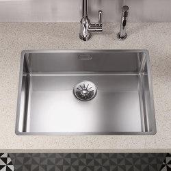 Polished stainless-steel kitchen sink   Kitchen sinks   Dornbracht