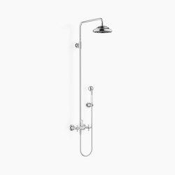 Douches à effet pluie | Madison - Solution de colonne de douche | Robinetterie de douche | Dornbracht