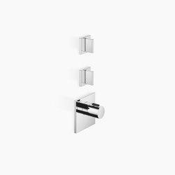 Rain Showers | MEM - xTOOL Thermostat module with 2 valves | Shower controls | Dornbracht