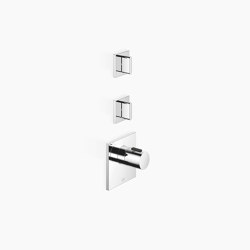 Rain Showers | CL.1 - xTOOL Thermostat module with 2 valves | Shower controls | Dornbracht