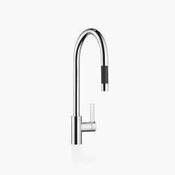 Tara Ultra - Single-lever mixer Pull-down with spray function | Kitchen taps | Dornbracht