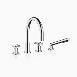 Tara. - Bath shower set for bath rim or tile edge installation | Bath taps | Dornbracht