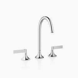 VAIA - Three-hole basin mixer with pop-up waste | Wash basin taps | Dornbracht