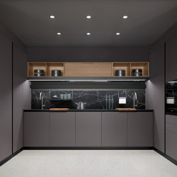 Thea, Layout 01 | Fitted kitchens | Arclinea