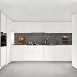 Thea, Layout 02 | Fitted kitchens | Arclinea