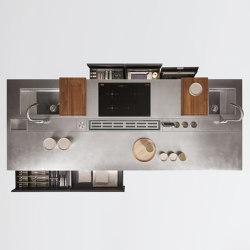 Thea, Layout 03 | Island kitchens | Arclinea