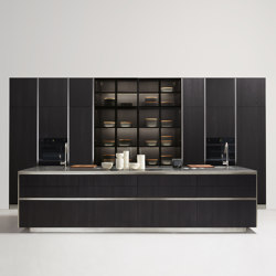 Thea, Layout 03 | Fitted kitchens | Arclinea