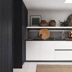 Thea, Show and Wet Kitchen | Fitted kitchens | Arclinea