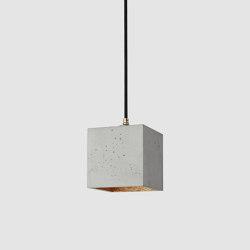 [B1] Concrete & Gold - Silver - Copper | Suspended lights | GANTlights