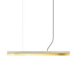 [C1] Concrete & Brass (L122cm) | Suspended lights | GANTlights