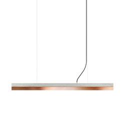 [C1] Concrete & Copper (L122cm) | Suspended lights | GANTlights