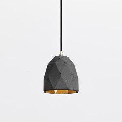 [T1] dark Concrete & Gold - Silver - Copper | Suspended lights | GANTlights